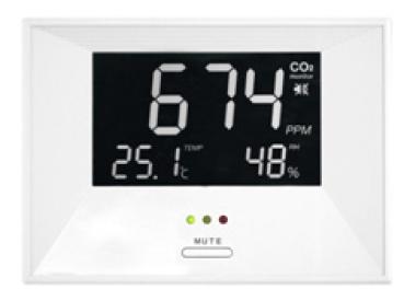 CO2 Ampel Digitalanzeige
